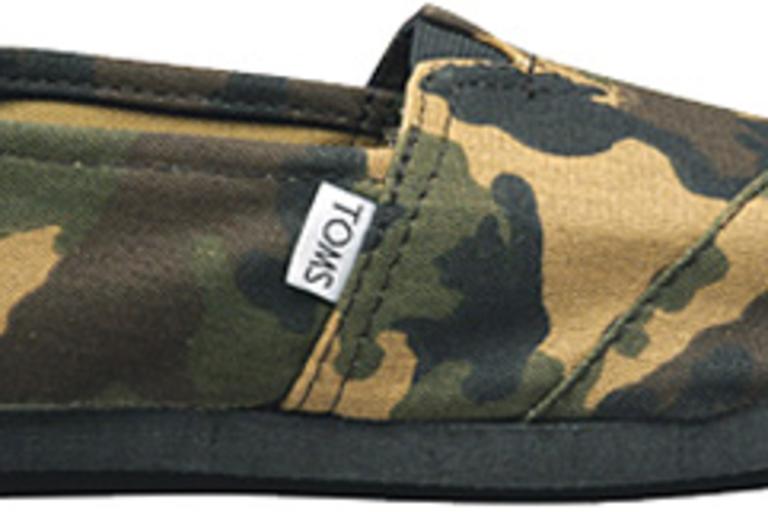 Toms Camo Shoes