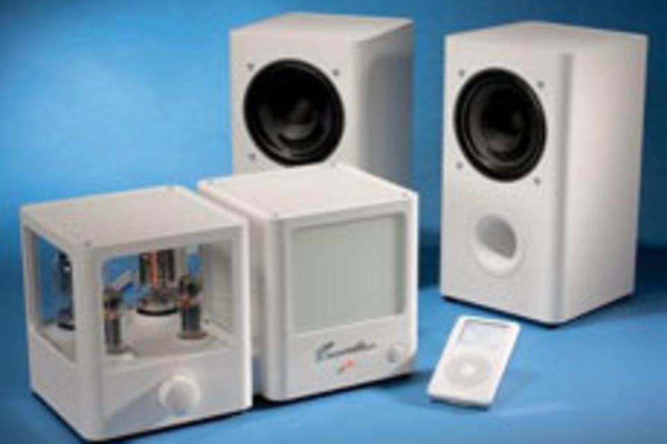 Triode-Tube iPod Speakers