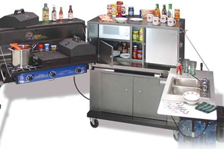 Ultimate Tailgate and Outdoor Kitchen