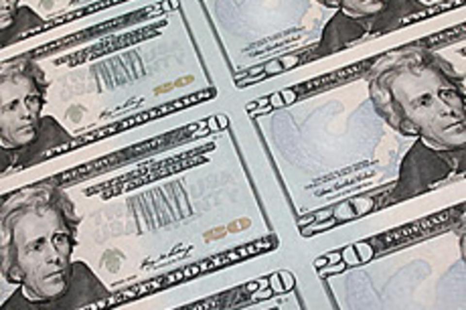 Uncut U.S. Currency