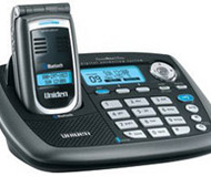 Uniden CellLink Cordless Flip Phone