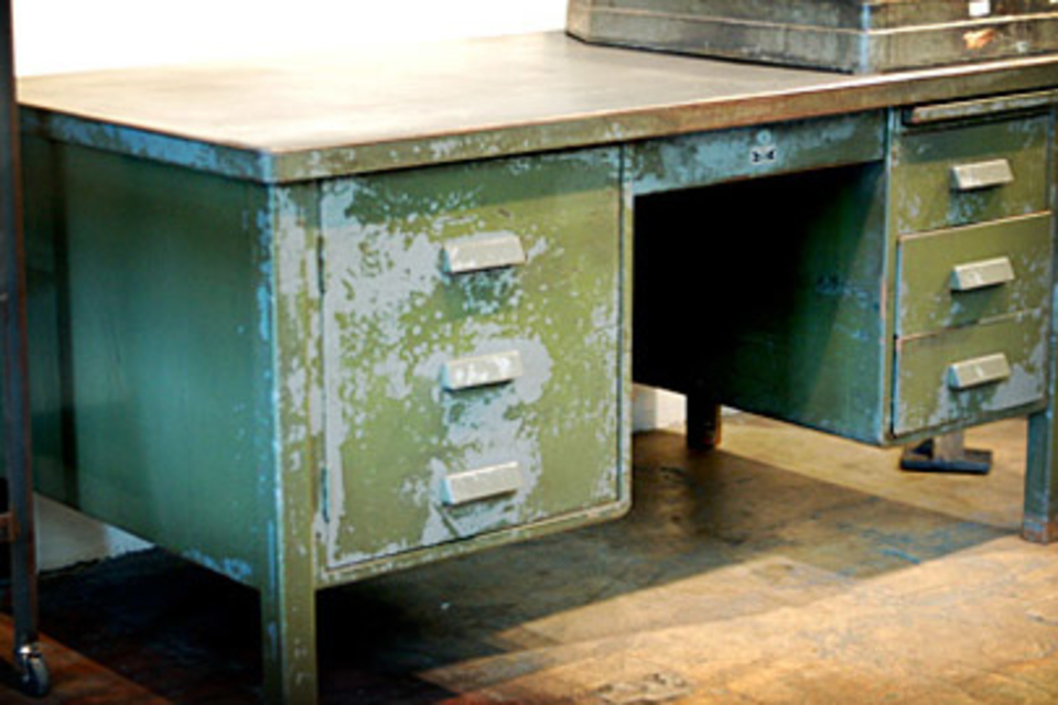 Vintage Desks & Office Chairs