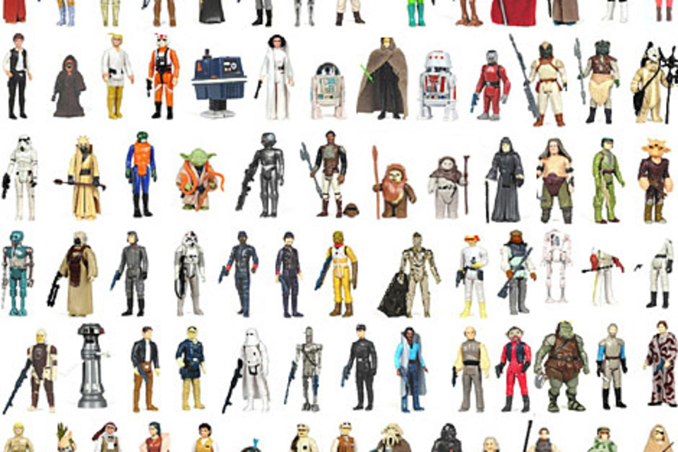 Complete Vintage Star Wars Action Figure Collection