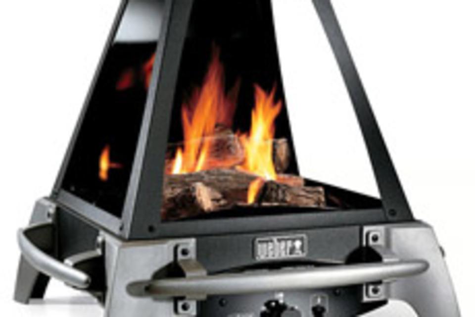 Weber Flame Gas Outdoor Fireplace