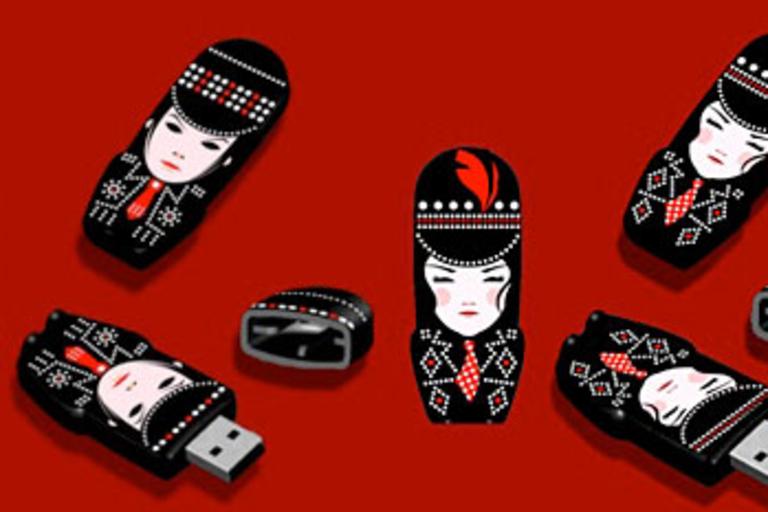 Jack & Meg Icky Thump USB Drives