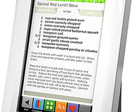 Demy Digital Recipe Reader