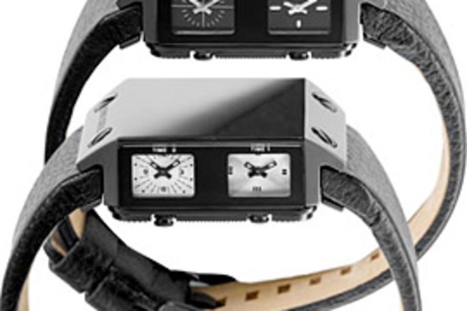 Diesel Black Label Sideview Watch