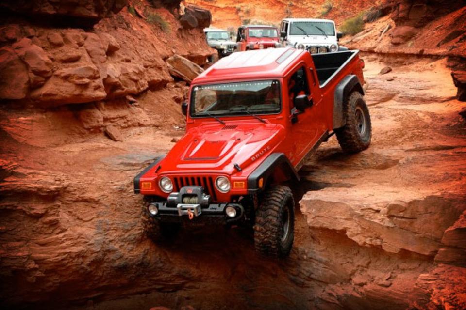 AEV Brute Jeep Pickup | Uncrate
