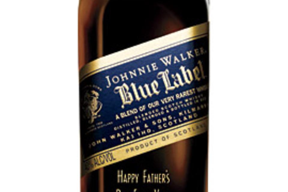 johnnie walker personalized bottle