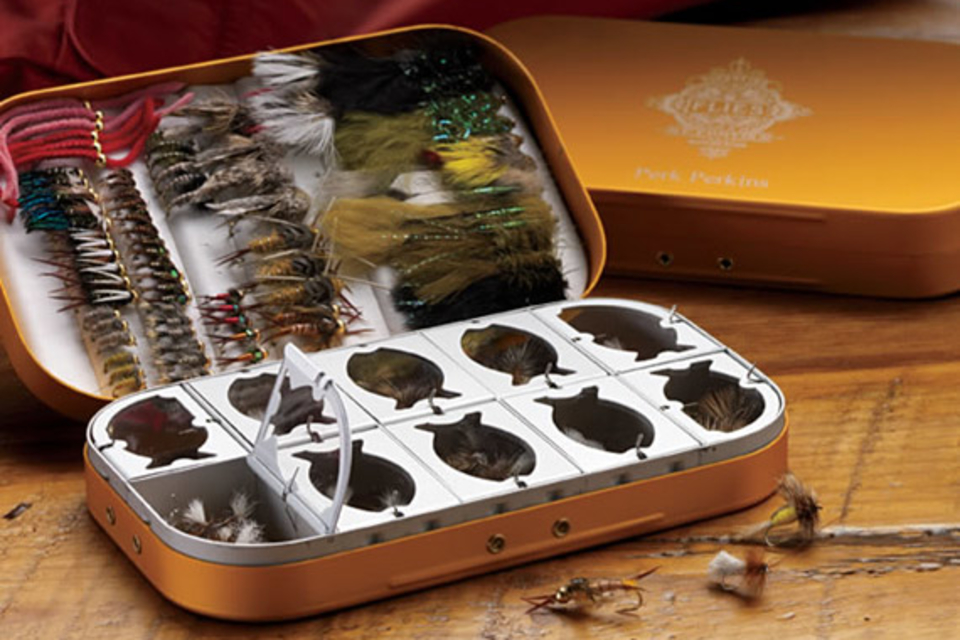 Perk's Gold Fly Selection