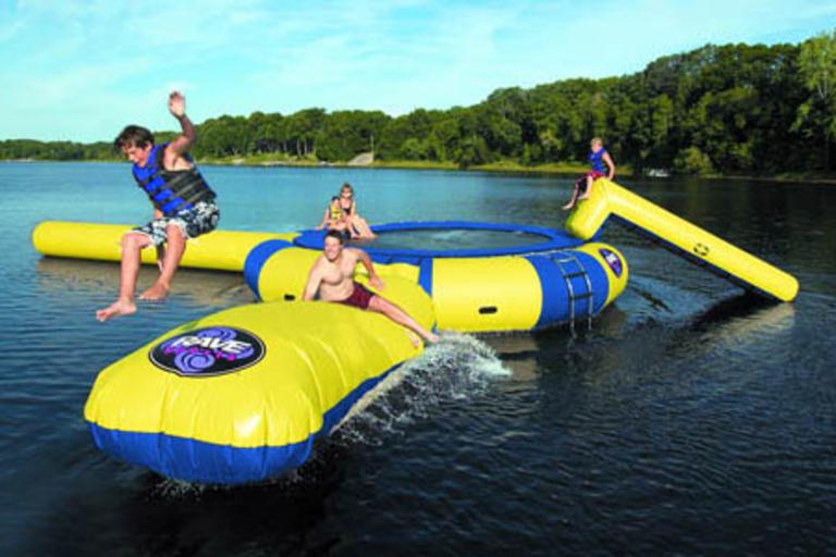 Rave Sports Aqua Jump Water Park
