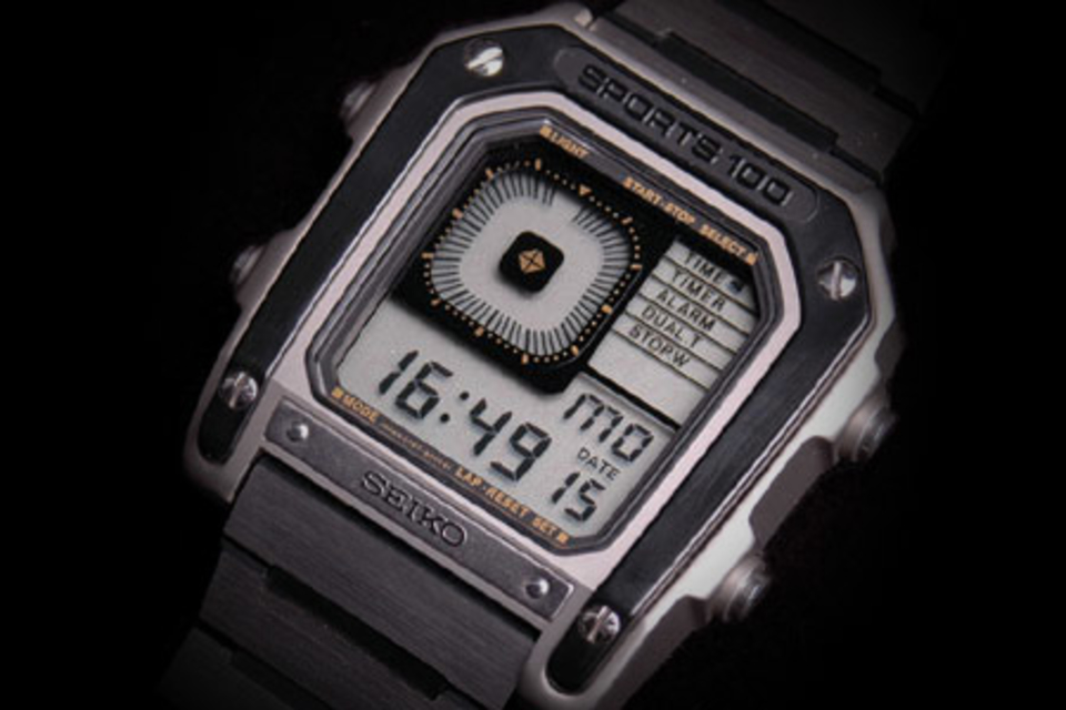 Seiko G757 Sports 100 Watch Uncrate