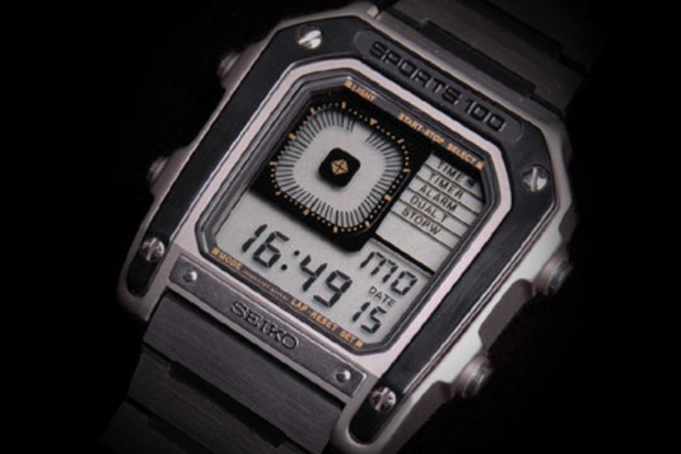 Seiko G757 Sports 100 Watch