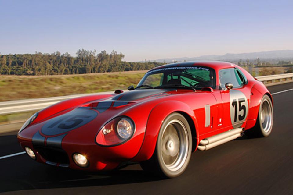 Shelby Daytona Coupe Le Mans Edition