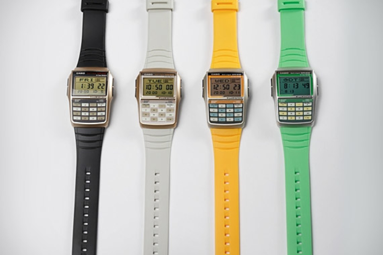 Casio G-Shock Data Bank Calculator Watch