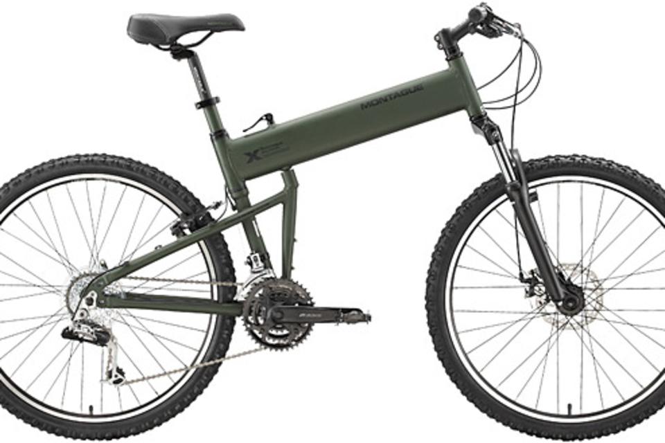 Montague Paratrooper Tactical Folding Mountain Bike | Uncrate