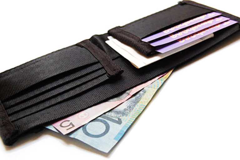Seat Belt Wallet