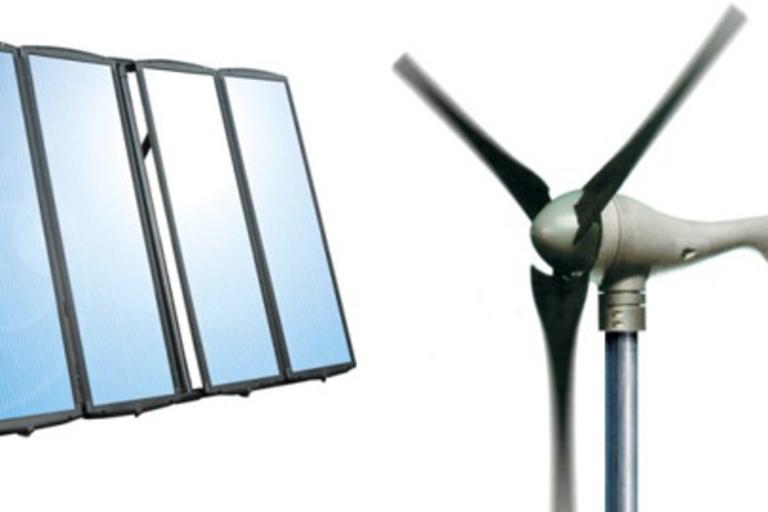 Sunforce Solar Charging & Wind Generator Kits