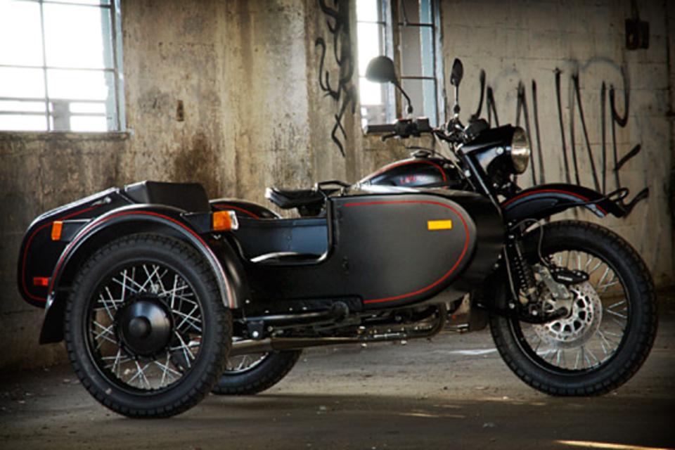 Ural T Sidecar Motorcycle
