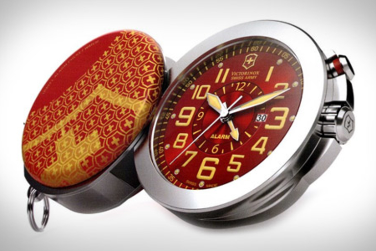 Victorinox Swiss Army Travel Alarm 1884