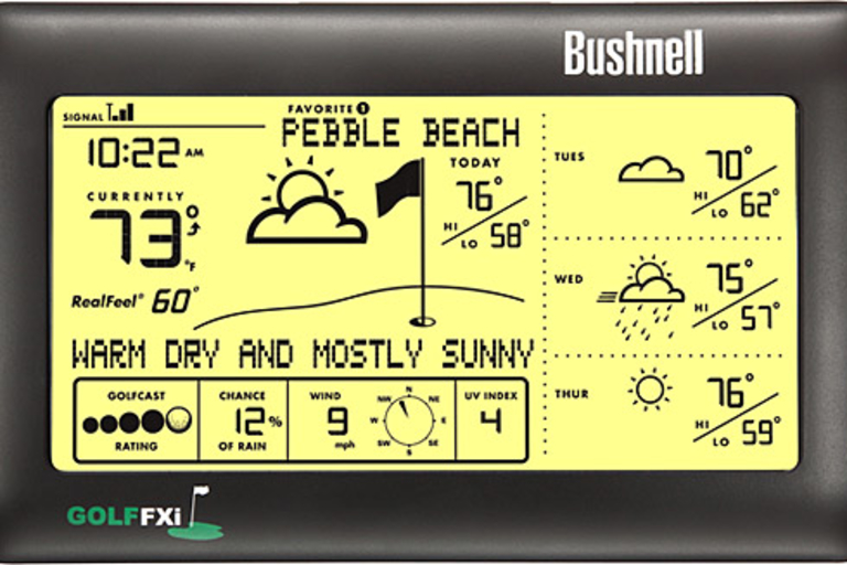 Bushnell Golf FXi Weather Forecaster