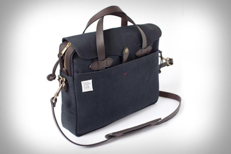 Filson + Apolis Philanthropist Briefcase
