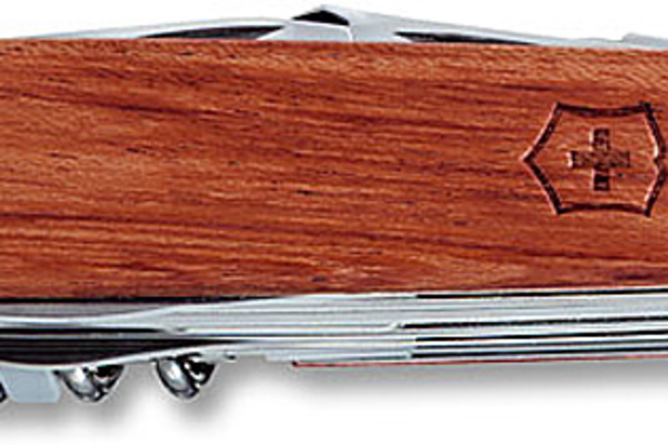 Victorinox Swiss Army SwissChamp Hardwood Knife