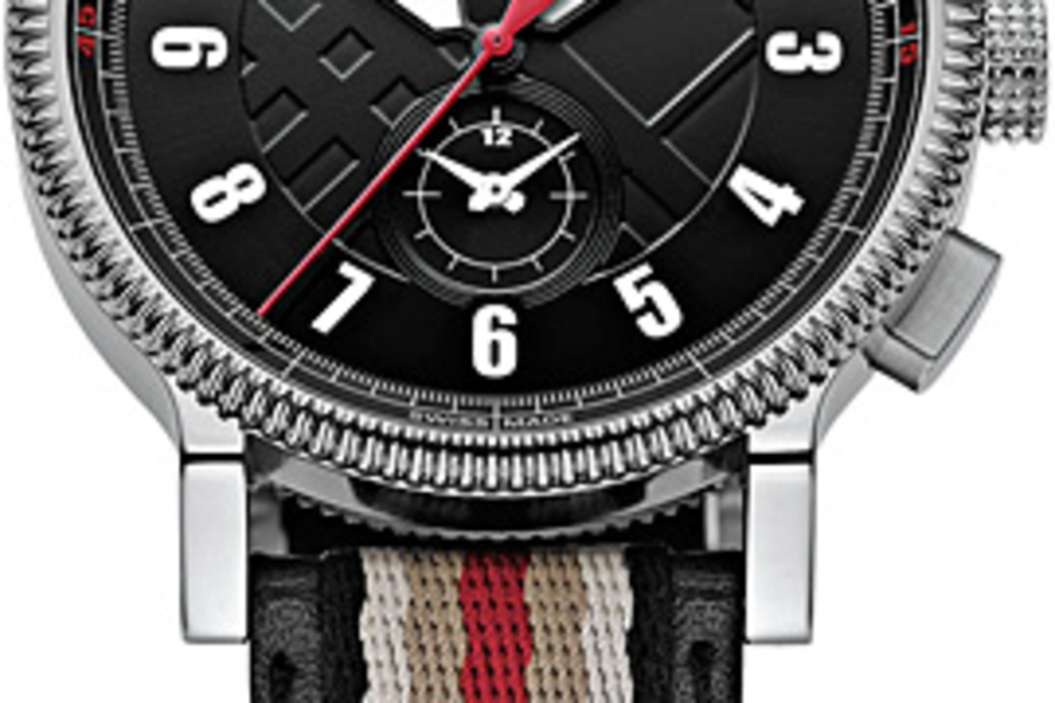 Burberry Multi-Stripe Watch