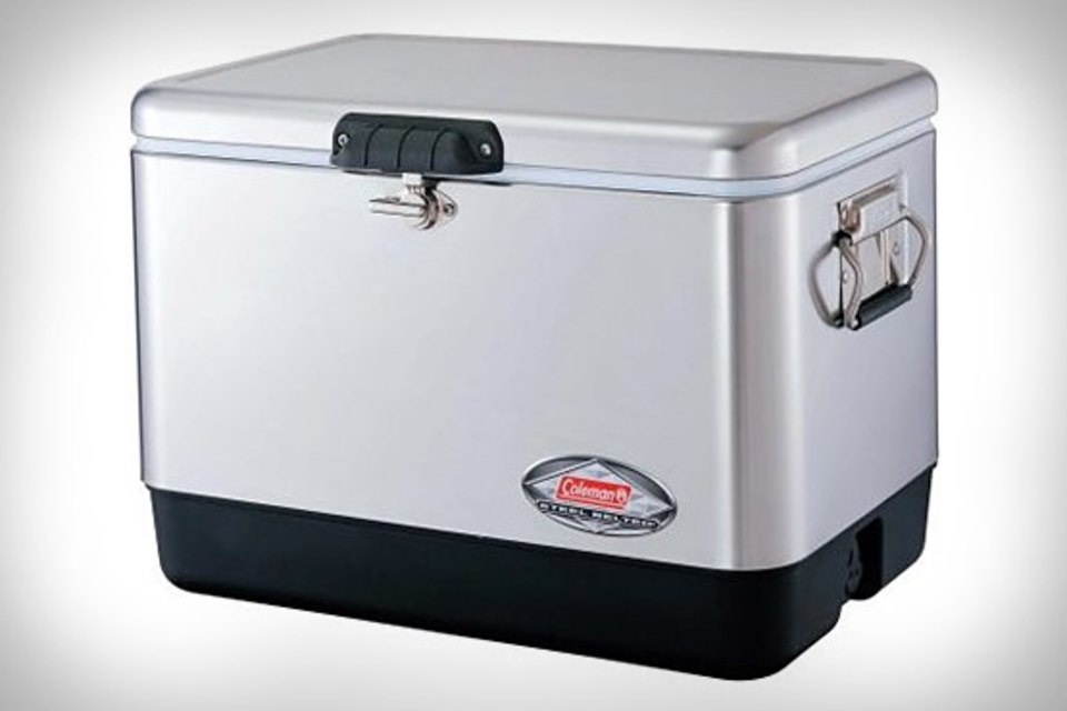 Coleman Steel Belted Chest Cooler