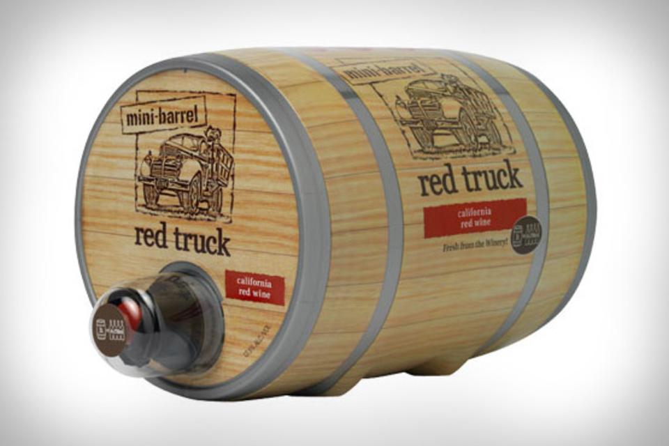 Red Truck Winery Mini-Barrel