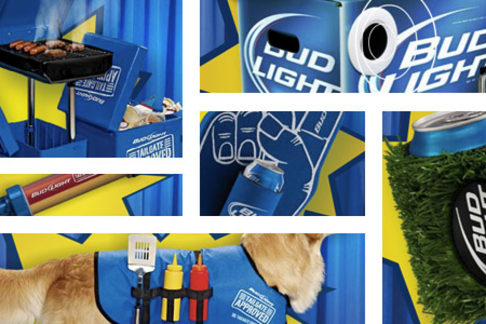 Bud Light Tailgate Approved Gear