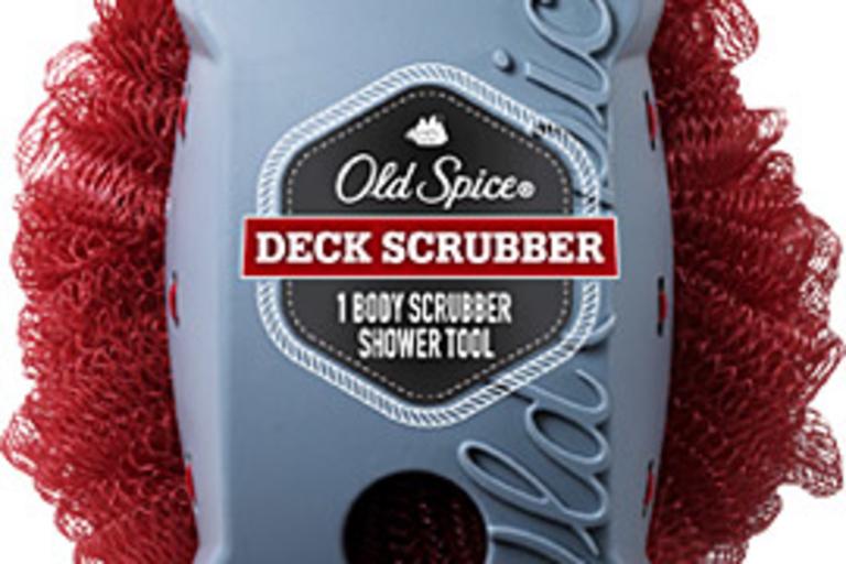 Old Spice Deck Scrubber