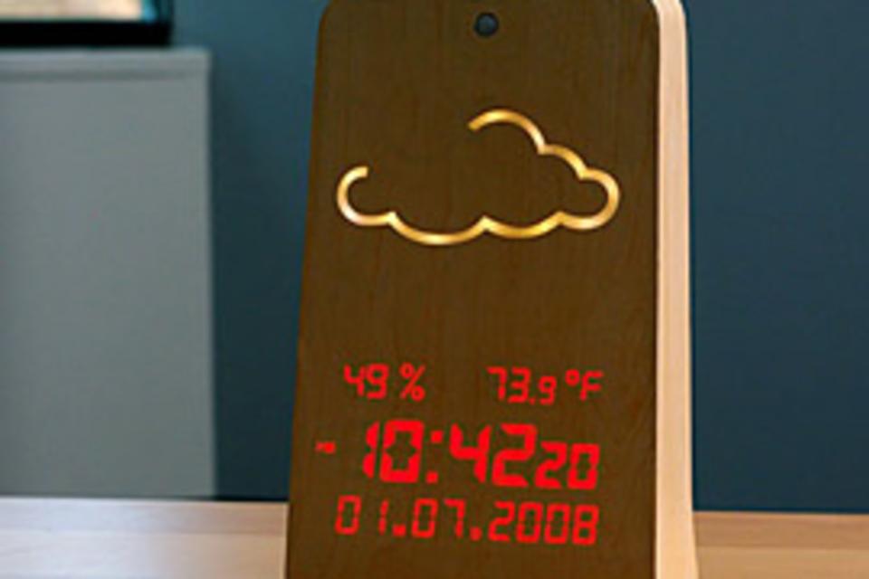 WoodStation Weather Display