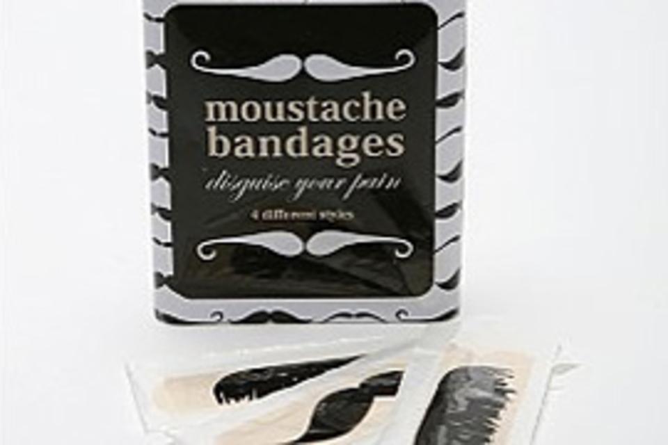 Moustache Bandages