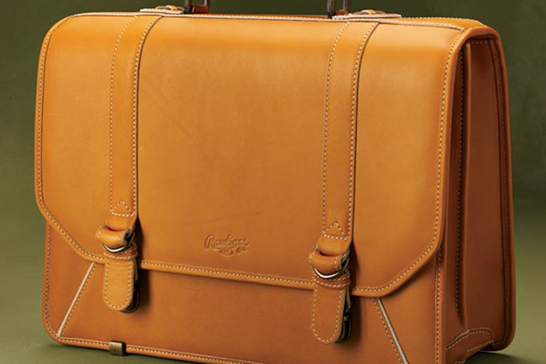 Rawlings Baseball Glove Leather Briefcase