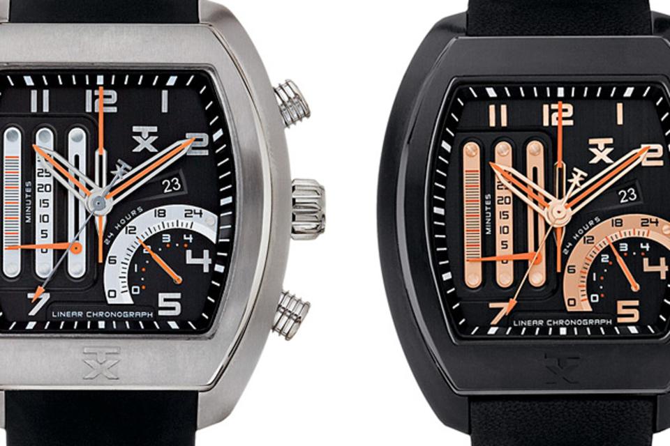 TX Linear Duo Watch