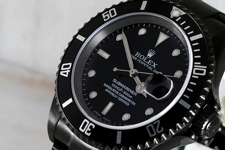 Black DLC Rolex Watches