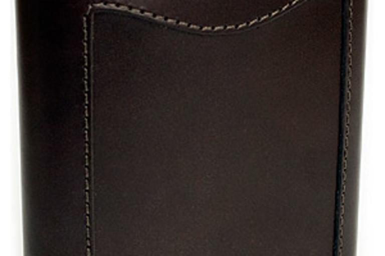 Filson Bridle Leather Hip Flask
