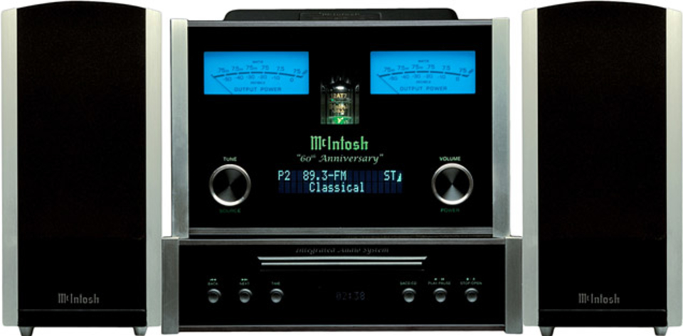 McIntosh MXA60 Integrated Audio System | Uncrate