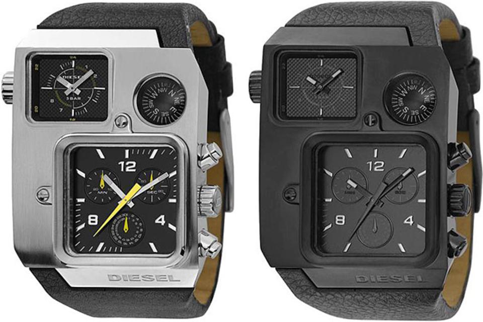 Diesel Compass Watch