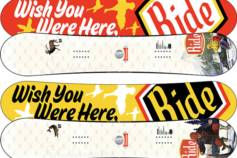Ride Slackcountry Snowboard