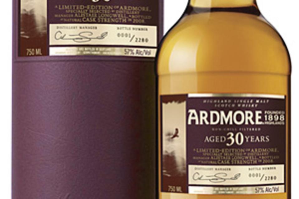 Ardmore 30 Year Old Single Malt Scotch Whisky