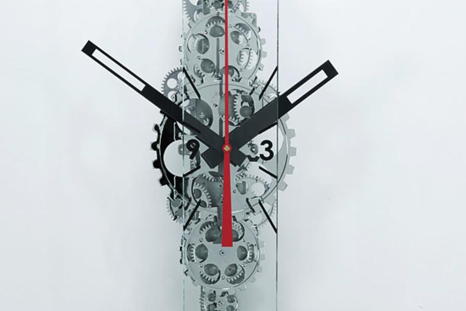 Oblong Gear Clock