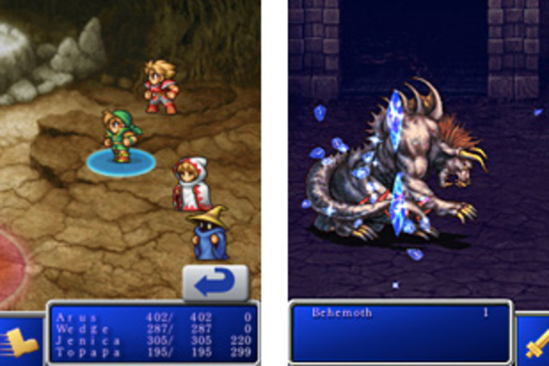 Final Fantasy & Final Fantasy II for iPhone