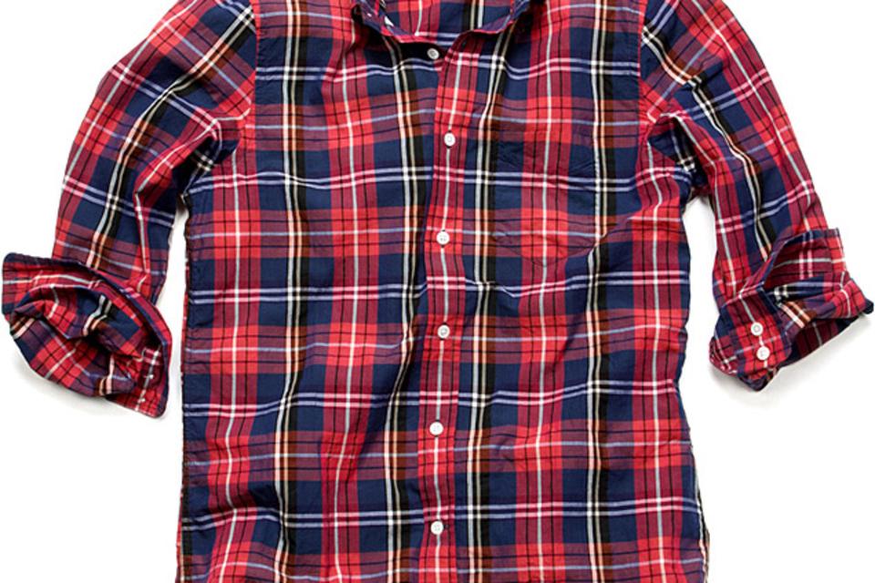 Gant Rugger Hugger Madras Shirt
