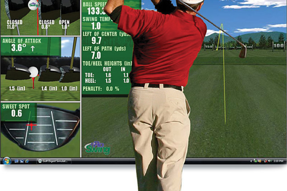 P3ProSwing Virtual Golf Simulator