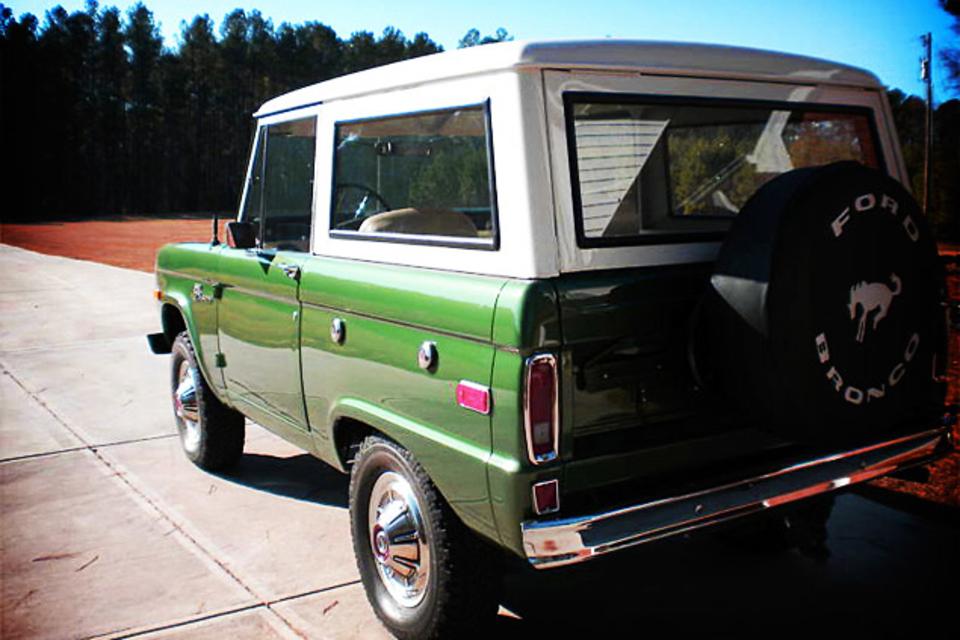 1973 Ford Bronco Uncut