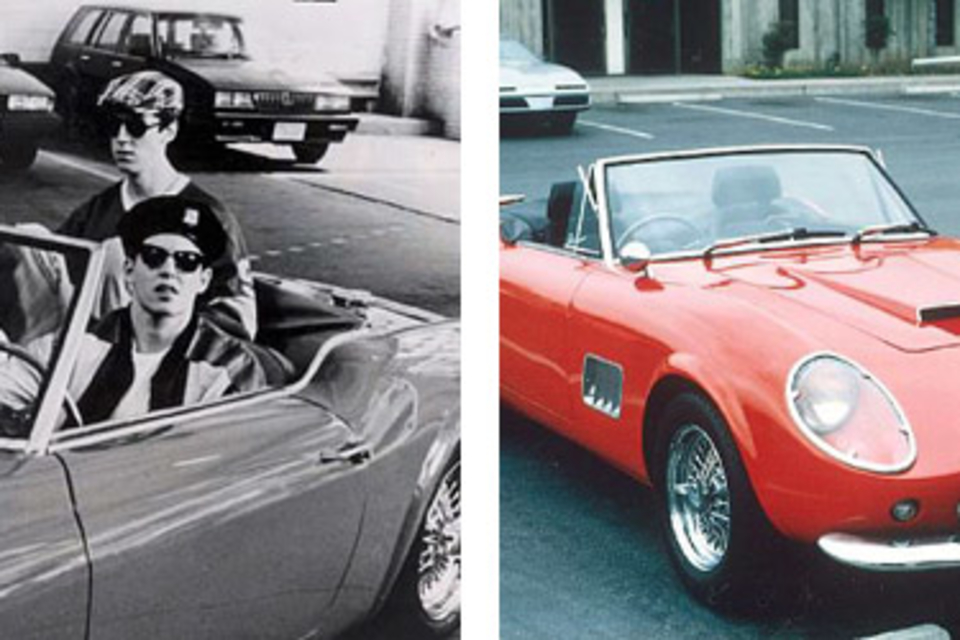 Ferris Bueller's Day Off Ferrari