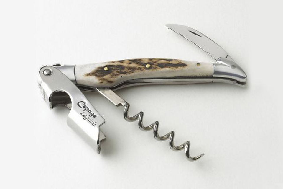 Jean Dubost Laguiole Stag Horn Corkscrew