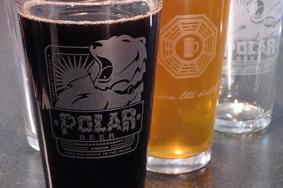 Polar Beer Pint Glass